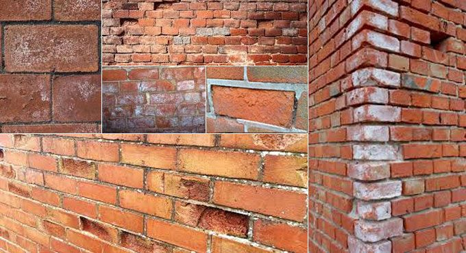 Photo of Spalling Bricks : Spalling Brick Cause and Repair