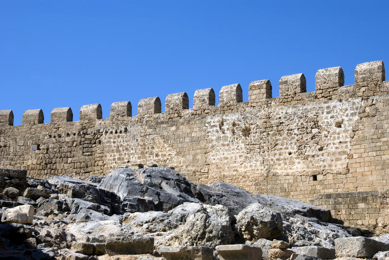 Embattled or Crenellation Walls
