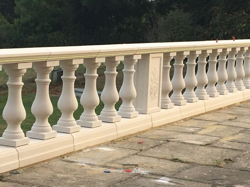 Perforated Parapet Walls